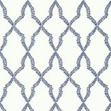 Thibaut Mirador Navy Wallpaper - Product code: T14248