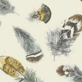 Thibaut Birding Aqua and Cream Wallpaper - Product code: T14258