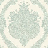 Albany Moselle Teal  Wallpaper