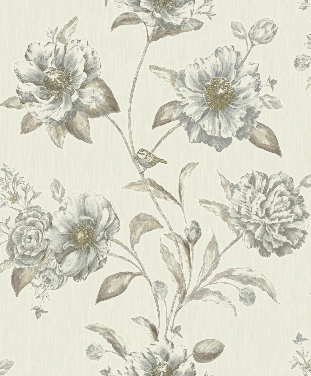 Albany Adela Beige Wallpaper - Product code: 75710