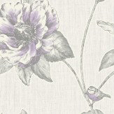 Albany Adela Purple Wallpaper