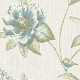 Albany Adela Blue  Wallpaper