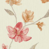 Albany Avonlea Red Wallpaper