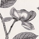 Jocelyn Warner Flora Graphite Fabric