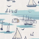 Clarke & Clarke Seashore Blue Fabric