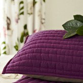 Sanderson Capuchins Cushion Purple