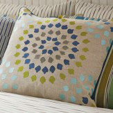 Harlequin Bahia Embroidered Cushion Multi