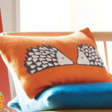 Scion Spike Knitted Cushion Pumpkin