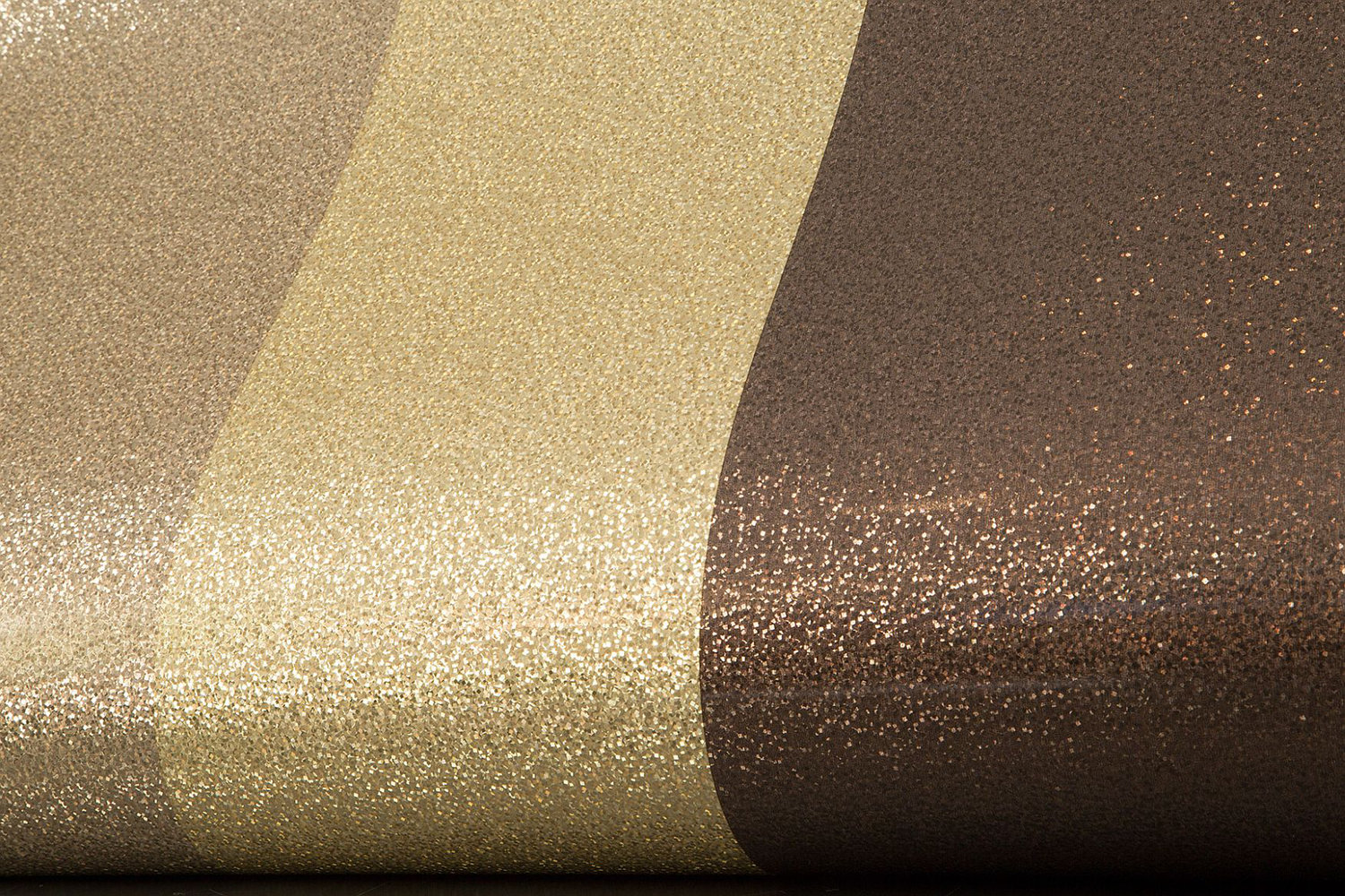 glitter stripe by albany   gold chocolate wallpaper direct