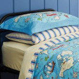 Sanderson Treasure Map Single Duvet Set Multi Duvet Cover