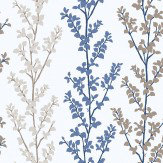 Galerie Branches Blue  Wallpaper