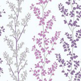 Galerie Branches Purple Wallpaper