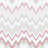 Galerie Tempo Zig Zag Red Wallpaper - Product code: G56339