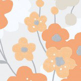 Galerie Blossom Orange Wallpaper