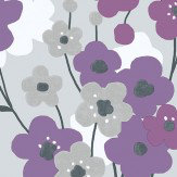 Galerie Blossom Purple Wallpaper - Product code: G56347