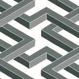 Cole & Son Luxor Black and White Wallpaper - Product code: 105/1002