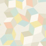 Cole & Son Puzzle Pale Pastel Wallpaper - Product code: 105/2009