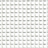 Cole & Son Mosaic White and White Wallpaper - Product code: 105/3015