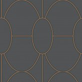 Cole & Son Riviera Charcoal  Wallpaper - Product code: 105/6029