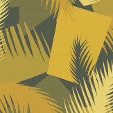 Cole & Son Deco Palm Yellow Wallpaper - Product code: 105/8035