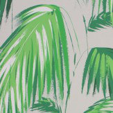Matthew Williamson Tropicana Green & Pebble Wallpaper