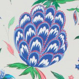 Matthew Williamson Habanera Pebble, Ultramarine & Cerulean Blue Wallpaper