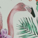 Matthew Williamson Flamingo Club Ivory, Fuchsia & Coral Wallpaper
