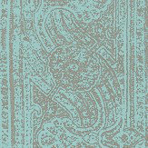 Harlequin Odisha  Marine/Platinum Wallpaper - Product code: 111256