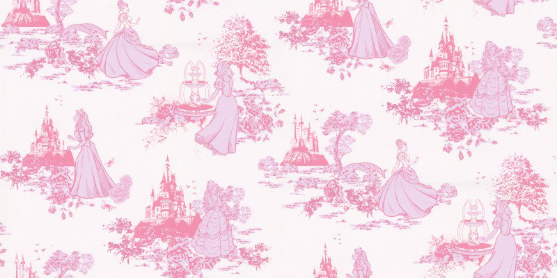 Kids @ Home Wallpapers Princess Toile 70233