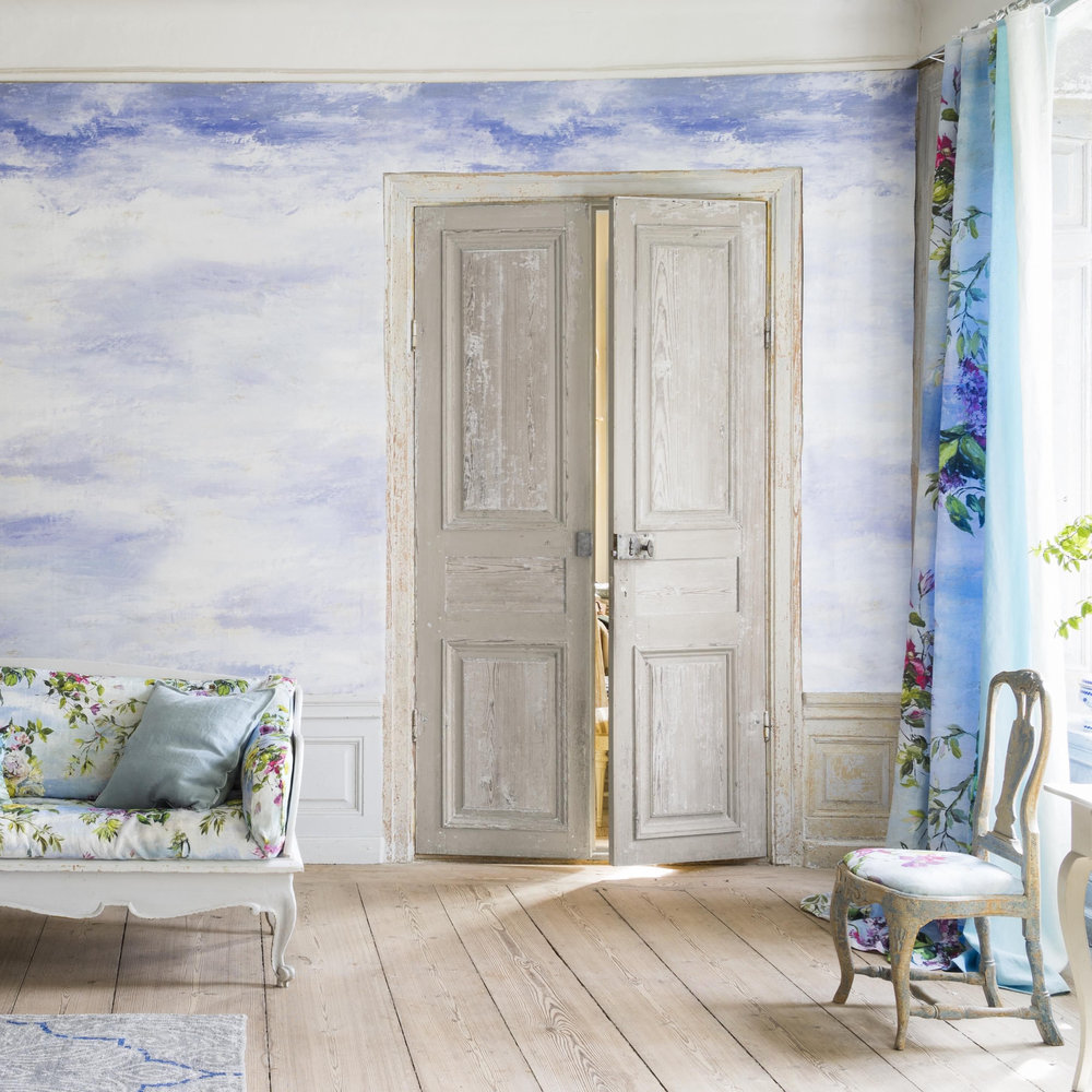 Cielo Panel Mural - Sky - by Designers Guild