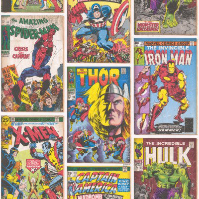 Kids @ Home Wallpapers Marvel Action Hero's, 70-238