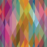 Cole & Son Prism Multi Coloured Wallpaper
