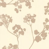 Ian Mankin Kew Baltic Oatmeal Wallpaper