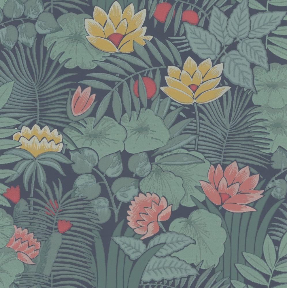 Little Greene Reverie Nile Wallpaper - Product code: 0288RENILEZ