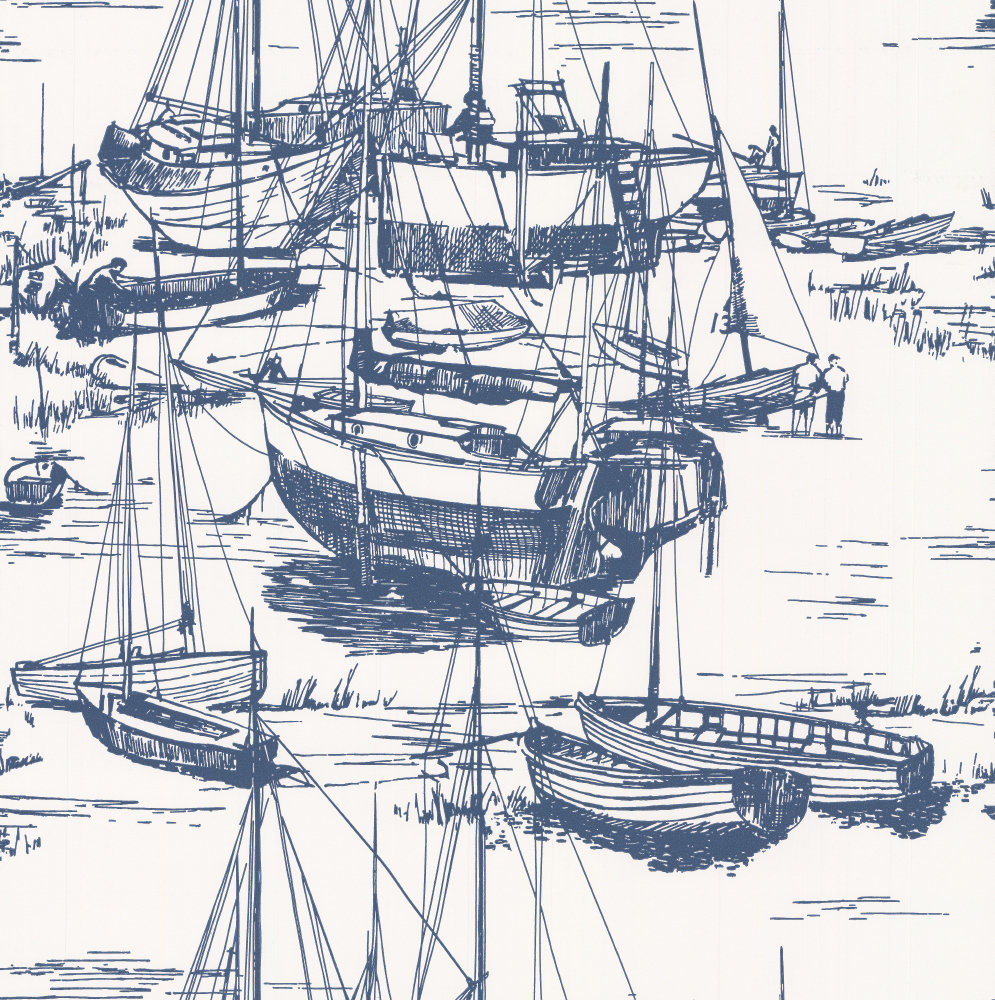 Little Greene Zingara Delft Wallpaper - Product code: 0288ZIDELFT