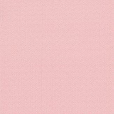 Ian Mankin Herringbone Pink Wallpaper