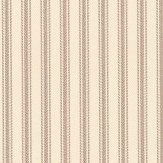 Ian Mankin Ticking 01 Flax Wallpaper