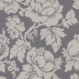 Ian Mankin Wildflower Charcoal Wallpaper