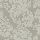 Ian Mankin Wildflower Grey Wallpaper