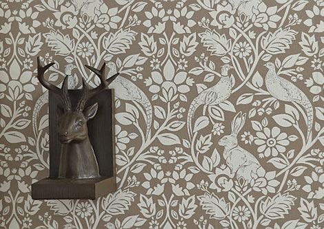 iliv Heathland Linen Wallpaper