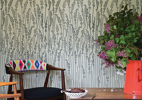 Farrow & Ball Feather Grass Cream Wallpaper