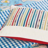 Sanderson Scribbler Cushion Multi