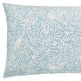 Sanderson Dawn Chorus Housewife Pillowcase Linen & Marine Blue