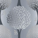 Galerie Tempo Tree Charcoal Wallpaper
