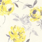 Galerie Rose Dance Yellow Wallpaper