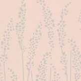 Farrow & Ball Feather Grass Pink Wallpaper