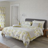 Sanderson Wisteria Blossom Duvet Linden & Charcoal Duvet Cover - Product code: 175005
