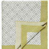 Sanderson Wisteria Blossom Fretwork Throw