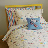 Sanderson Dogs in Clogs Single Duvet Set Duvet Cover
