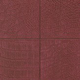 Albany Crocodile Brick Effect Red Wallpaper - Product code: 576108